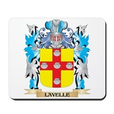 Lavelle Coat of Arms - Family Crest Mousepad