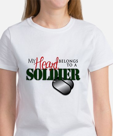 Heart Belong to Soldier T-Shirt