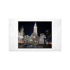 Philadelphia - City Hall. Area Rug