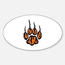 TIGER CLAW MARKS Decal
