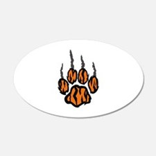TIGER CLAW MARKS Wall Decal