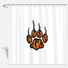 TIGER CLAW MARKS Shower Curtain