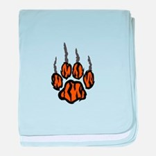 TIGER CLAW MARKS baby blanket