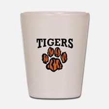 TIGERS PAW Shot Glass