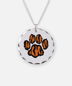 TIGER PAW PRINT Necklace