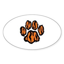 TIGER PAW PRINT Decal