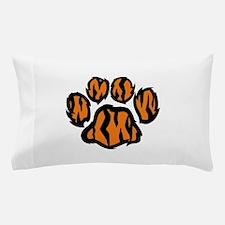 TIGER PAW PRINT Pillow Case