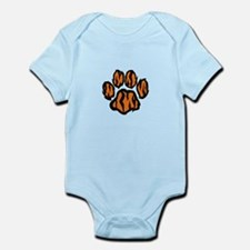 TIGER PAW PRINT Body Suit