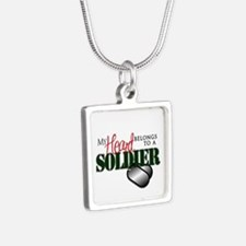 Heart Belong to Soldier Necklaces