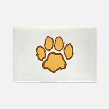 LION PAW PRINT Magnets