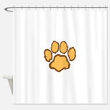 LION PAW PRINT Shower Curtain