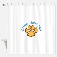 LITTLE LIONS FAN Shower Curtain