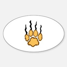 LIONS CLAW MARKS Decal