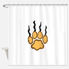 LIONS CLAW MARKS Shower Curtain