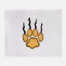 LIONS CLAW MARKS Throw Blanket