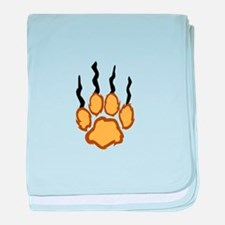LIONS CLAW MARKS baby blanket