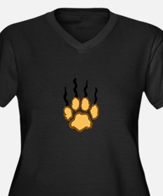 LIONS CLAW MARKS Plus Size T-Shirt