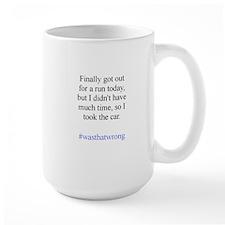 Went For A Run Mugs