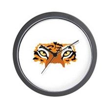 TIGER EYES Wall Clock