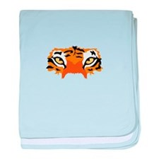 TIGER EYES baby blanket