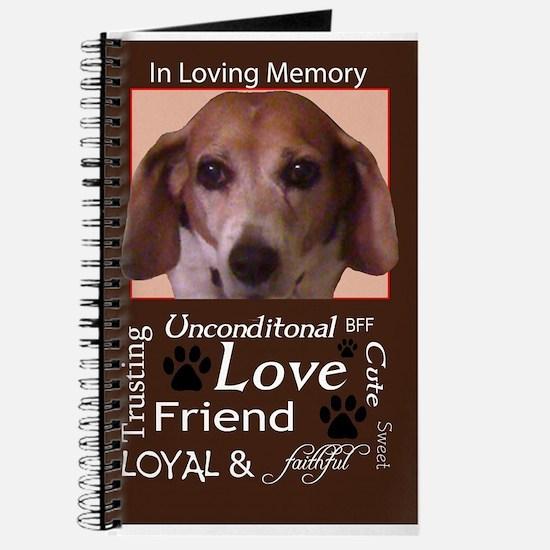 Unique Loving memory Journal