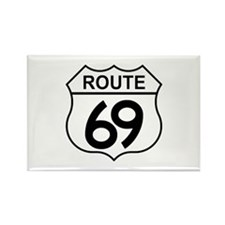 Route 69 Rectangle Magnet