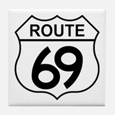 Route 69 Tile Coaster