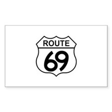 Route 69 Rectangle Decal