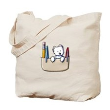 Pkt Protector Westie Tote Bag
