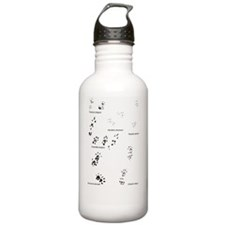 save the wild chinchil Water Bottle
