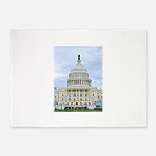 US Capitol Building 5'x7'Area Rug