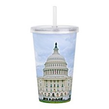 US Capitol Building Acrylic Double-wall Tumbler