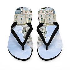 US Capitol Building Flip Flops