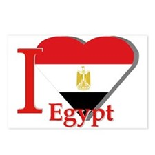 I love Egypt Postcards (Package of 8)