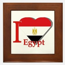 I love Egypt Framed Tile