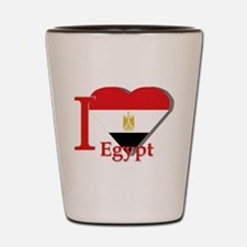 I love Egypt Shot Glass