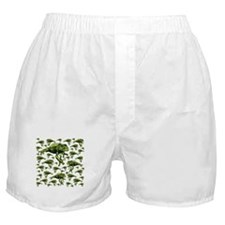 Green Tree Frogs Boxer Shorts