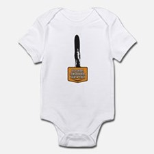 Old Skool Surfer Bottom Infant Bodysuit