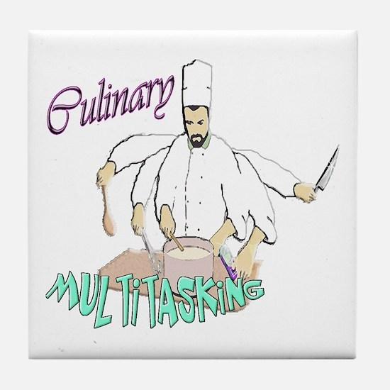 Culinary Multitasking Tile Coaster