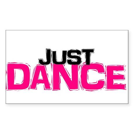 Just Dance Rectangle Sticker