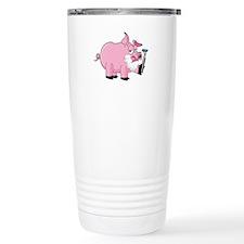 Pig Shaving Travel Mug