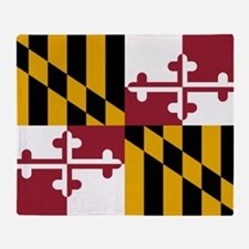 Flag of Maryland Throw Blanket