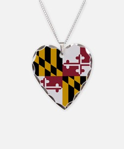 Flag of Maryland Necklace