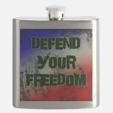 Defend Your Freedom Flask