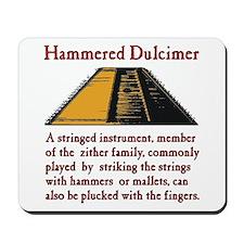 Hammered Dulcimer Mousepad