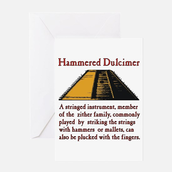 Hammered Dulcimer Greeting Cards