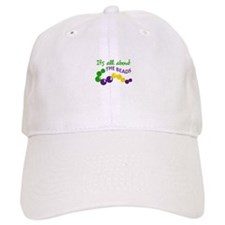 ITS ALL ABOUT THE BEADS Baseball Baseball Cap