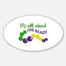 ITS ALL ABOUT THE BEADS Decal