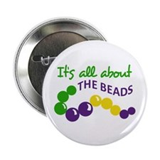 """ITS ALL ABOUT THE BEADS 2.25"""" Button (10 pack)"""