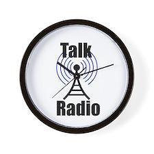 Talk Radio Wall Clock